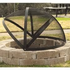 Large Firepits 40 Pit Screen For Large Pits Our House