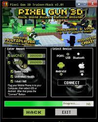 pixel gun 3d hack apk pixel gun 3d hack v2 01 android ios hacksbook