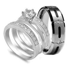 wedding sets his and hers ordinary his and hers wedding ring sets 13 his and hers