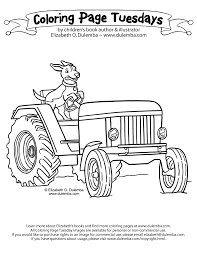 tractor trailer coloring pages elizabeth o dulemba