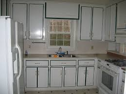 painting kitchen cabinets white color with black border painting