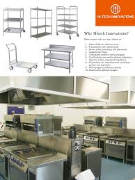 Kitchen Equipment Design by Commercial Kitchens And Kitchen Equipment Manufacturer Hitech