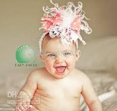 infant hair bows baby hair bows ribbon satin hair flower hair baby