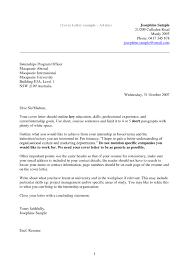 cover letter database with australia address format 2017 world
