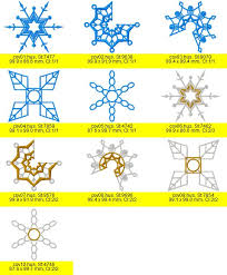 my embroidery snowfun ornaments covers light collars