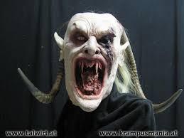 Krampus Costume 02 Days U0027til Krampus Night Blood Curdling Blog Of Monster Masks