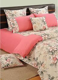 Cotton Single Bed Sheets Online India Buy Swayam Shades Of Paradise Peach Bedsheet Set Online India