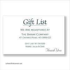 wedding wish list registry wedding invitation new how to word gift registry on wedding