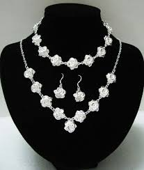 sterling silver necklace set images Sterling silver jewellery set new for 2015 handmade stunning jpg