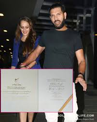 revealed yuvraj singh s wedding card is simply a knockout view