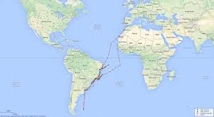 Google Maps South America by Hms Bristol Light Cruiser British Warships Of World War 1