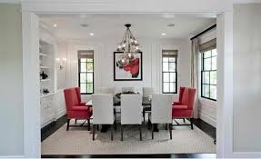 Gorgeous Dining Room In Red White And Black Interior Design - Gorgeous dining rooms