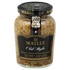 whole grain dijon mustard maille mustard style whole grain dijon 6x7 3 oz