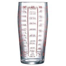 doseur cuisine luminarc verre doseur 58 cl ustensiles à pâtisserie luminarc sur