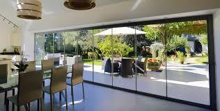folding door glass frameless glass u0026 aluminium patio doors glass curtain walls