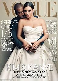 wedding dress kanye wears wedding dress on vogue cover