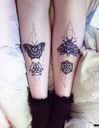 tattoos inked ink butterfly geometric dotwork