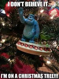 Pixar Meme - christmas xmas meme disney pixar monsters inc mike wazowski monsters