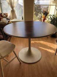 round table hayward ca white tulip round table table top is only covered with removable