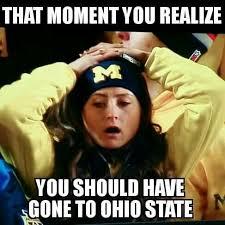 College Football Memes - haha go bucks football pinterest buckeyes ohio and ohio