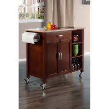 oak kitchen island cart kitchen carts carts islands u0026 utility tables the home depot