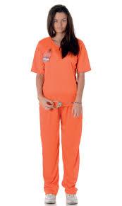 costume for women s orange prisoner orange inmate women s costume