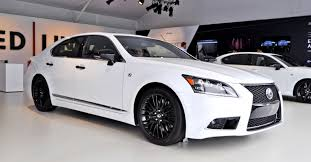 white lexus 2015 car revs daily com 2015 lexus ls460 f sport crafted line is most