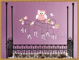 Owl Nursery Wall Decals by Birds Nursery Wall Decals Design Stickers For Nursery Wall