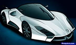 supercar drawing how to draw a ssc ultimate aero ii ssc ultimate aero ii step by