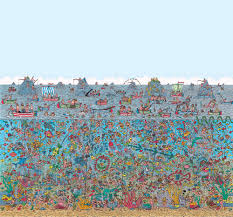 where s wally wallpaper mural wallpaper murals these where s wally wallpaper wall mural comes in 6 easy to apply pieces measuring 2 70m wide x 2 53m high durable wallpaper with easy to