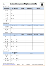 algebra with cazoom maths algebra worksheets and math