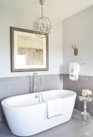 Silver Bathroom Sink A Transitional Master Bathroom Tour Zdesign At Home