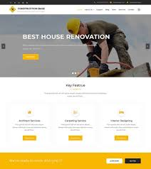 70 best construction wordpress themes free u0026 premium freshdesignweb