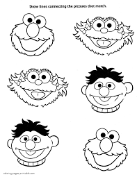 sesame street mini coloring books cookie monster