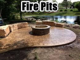 Concrete Fire Pit by Sierra Concrete Arts Your Twin Cities Leader In Decorative Concrete