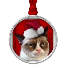 grumpy cat ornament zazzle