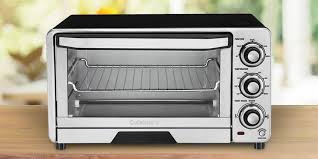 Toaster Oven With Auto Slide Out Rack Cuisinart Tob 40 Toaster Oven Review Compactappliance Com