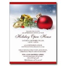 business christmas open house invitations open house invitation