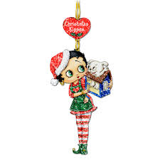 betty boop glitter ornaments the danbury mint