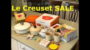 le creuset factory to table le creuset factory to table sales event cheers marie youtube