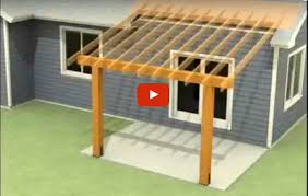 How To Clean An Awning On A House How To Attach A Patio Roof To An Existing House Protradecraft