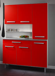 Red Kitchen Cabinets Kitchen Exquisite Modern Furniture For Kitchen Design And