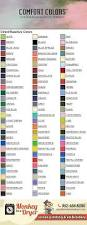 Comfort Chart Swatch Chart Comfort Colors U2013 Minneapolis Mn Monkey In A