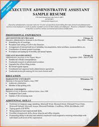 Administrative Assistant Objective Resume Examples by 9 Resume For Executive Assistant Sample Budget Template Letter