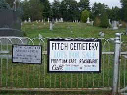 cemetery lots for sale fitch cemetery laceyville genealogy