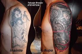 tatuajebrasov biomechanical cover up tatto