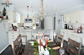 green with decor u2013 pretty white kitchens