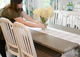 how to make table runner at home make a no sew table runner tip tuesday the diy mommy