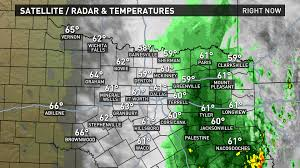 Dallas Weather Radar Map by Lingering Morning Rain Warm And Dry Week Ahead Wfaa Com