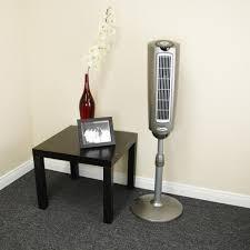 Pedestal Fan With Remote Control 2535 Lasko Space Saving Oscillating Pedestal Fan